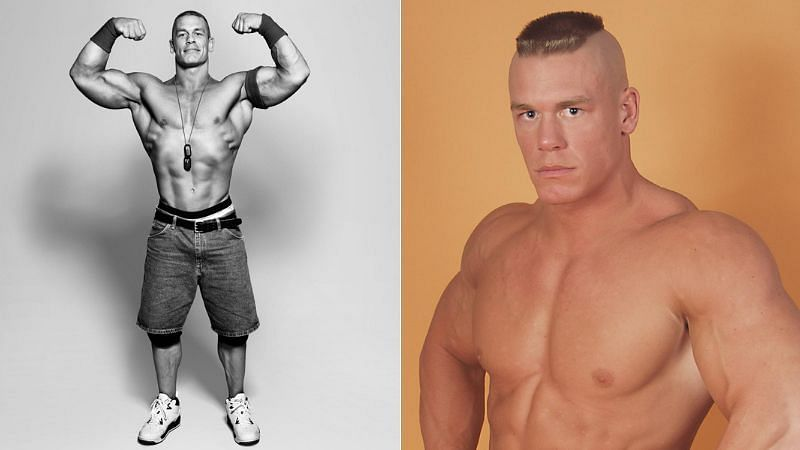 John Cena (left); The Prototype (right)