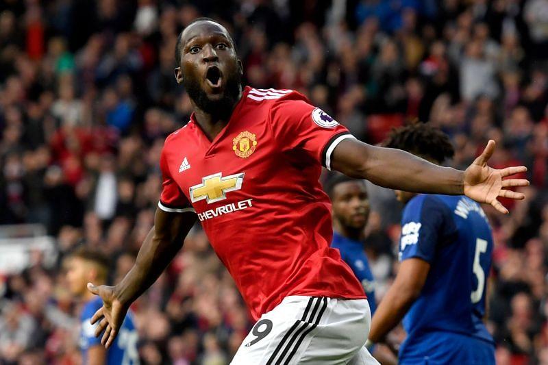 Former Manchester United star Romelu Lukaku