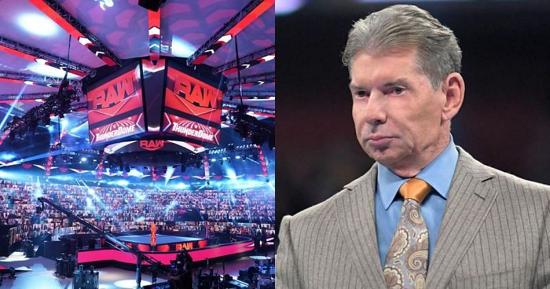 WWE ThunderDome and Vince McMahon.