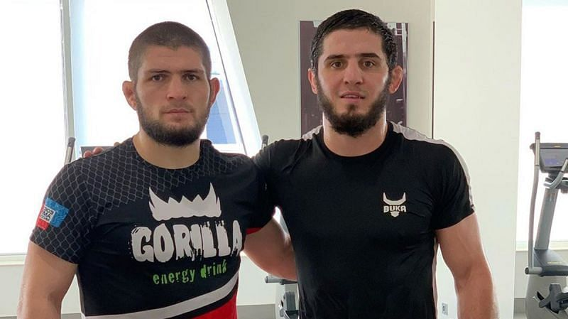 Khabib Nurmagomedov and Islam Makhachev are close friends and teammates