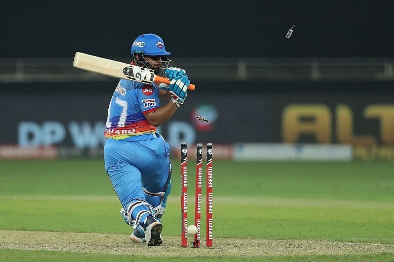 Rishabh Pant suffered a Grade 1 tear during the match against RR on Friday (Credits: IPLT20.com)
