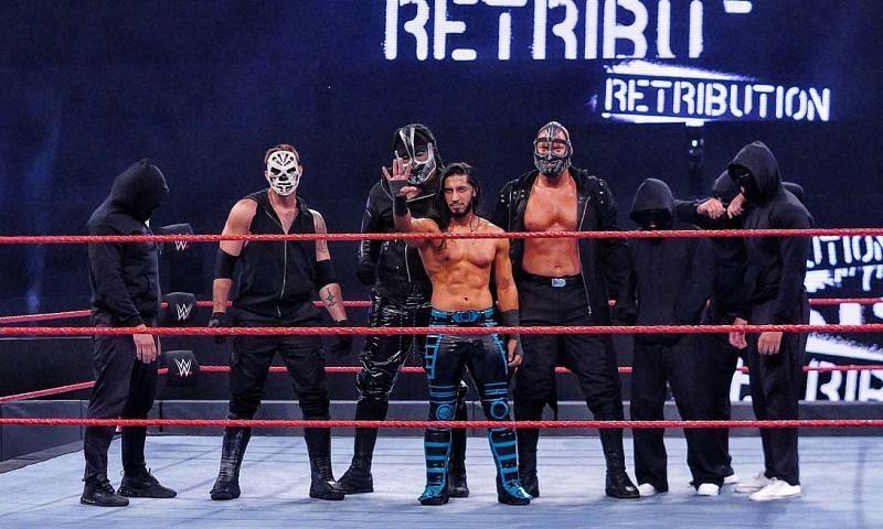 Mustafa Ali was revealed as the leader of RETRIBUTION last week