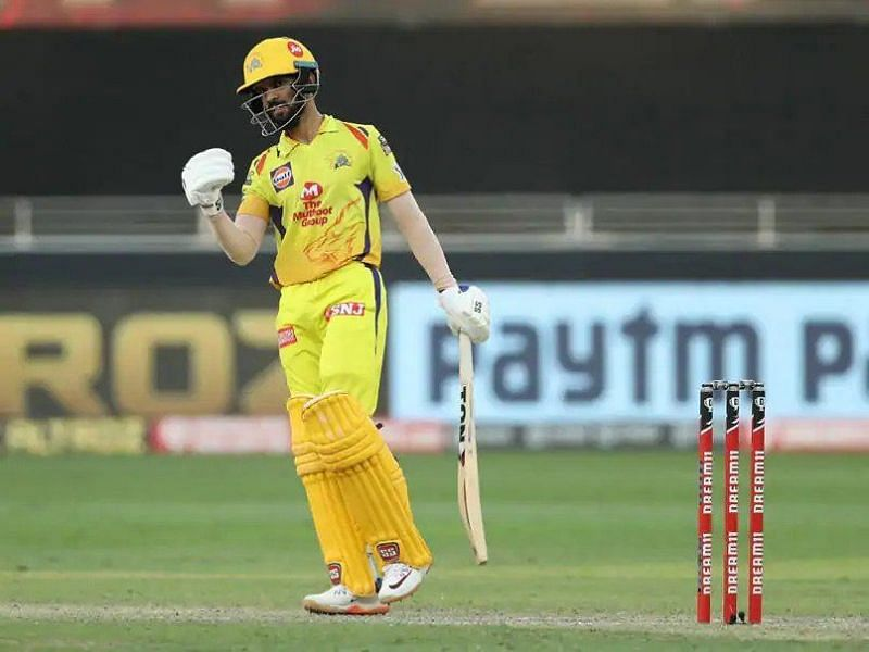 Ruturaj Gaikwad hit his second consecutive IPL fifty, scoring 72 runs from just 53 balls and helped CSK beat KKR
