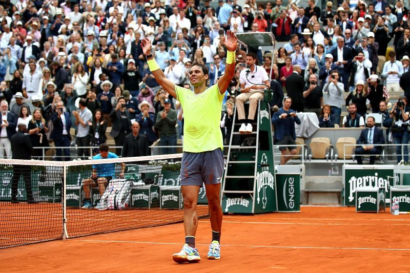 Rafael Nadal recalled an anecdote about Guillermo Vilas in the documentary.