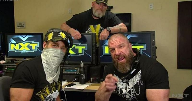 NXT is back at the WWE PC.