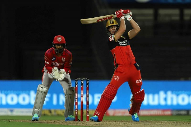 RCB sent in Shivam Dube and Washington Sundar to bat ahead of AB de Villiers [P/C: iplt20.com]