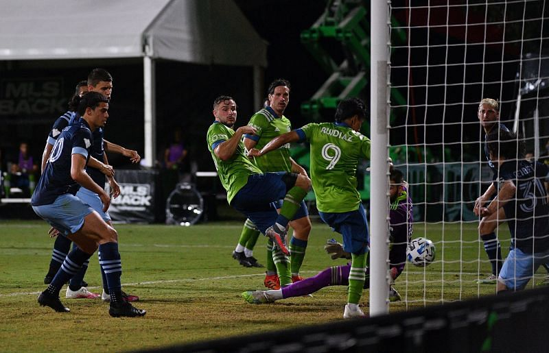 Seattle Sounders FC are the current leaders of the MLS Western Conference
