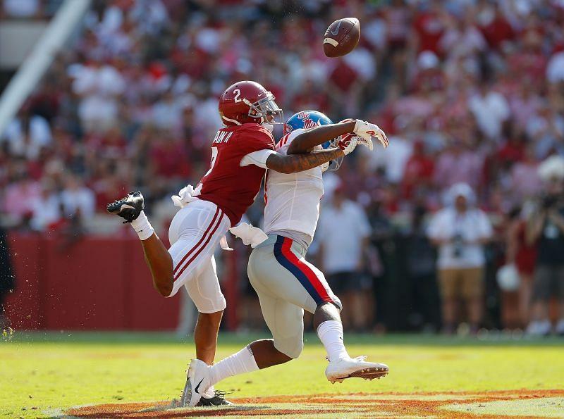 Alabama cornerback Patrick Surtain II