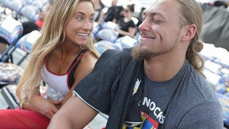 Carmella and Big Cass were once in a relationship