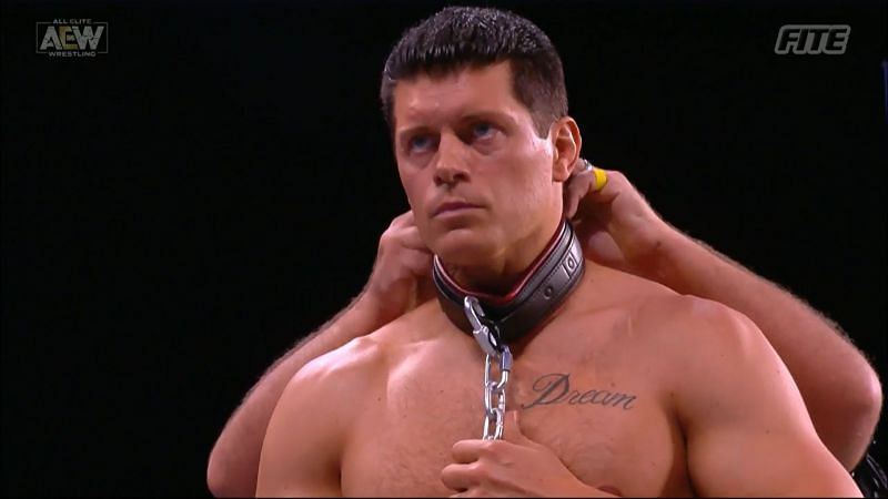 Cody Rhodes and Mr. Brodie Lee had a brutal match