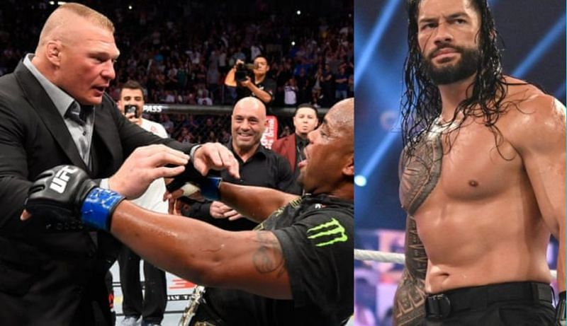 Daniel Cormier has a message for both Roman Reigns and Brock Lesnar