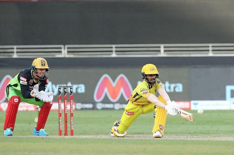 Ruturaj Gaikwad played a terrific knock against RCB. (Image Credits: IPLT20.com)