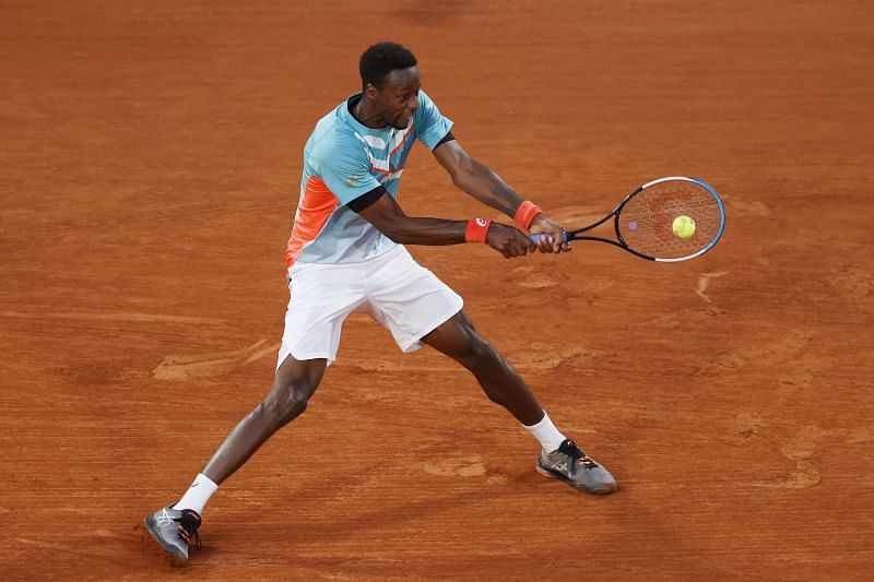 Gael Monfils exited in the first round of the 2020 French Open