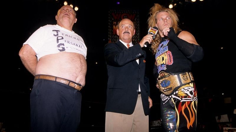 Jericho had some guys in mind (Pic Source: WWE)