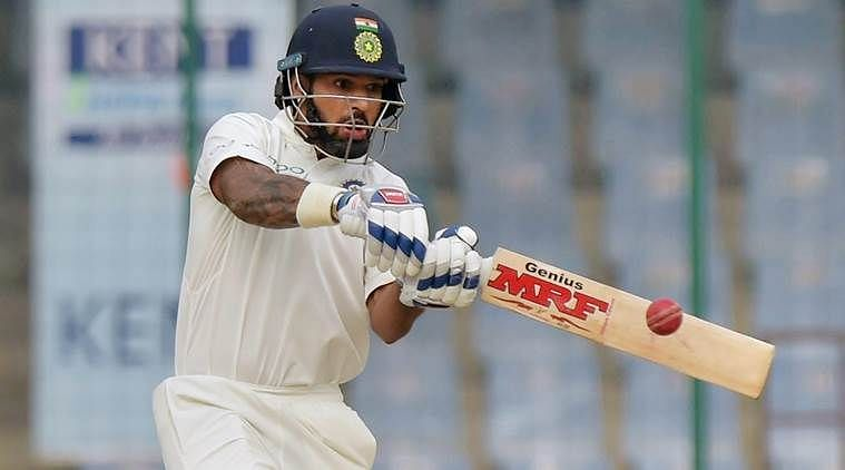 Shikhar Dhawan could have been at home in Australia