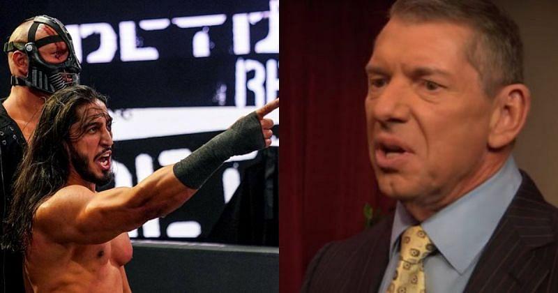 RETRIBUTION and Vince McMahon.