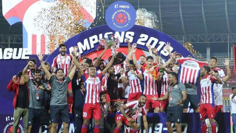 2019-20 ISL winners ATK