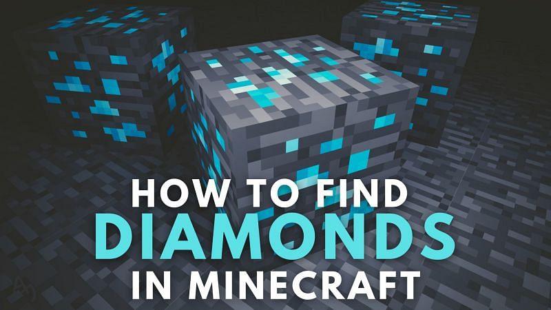 Steps to find diamonds in Minecraft