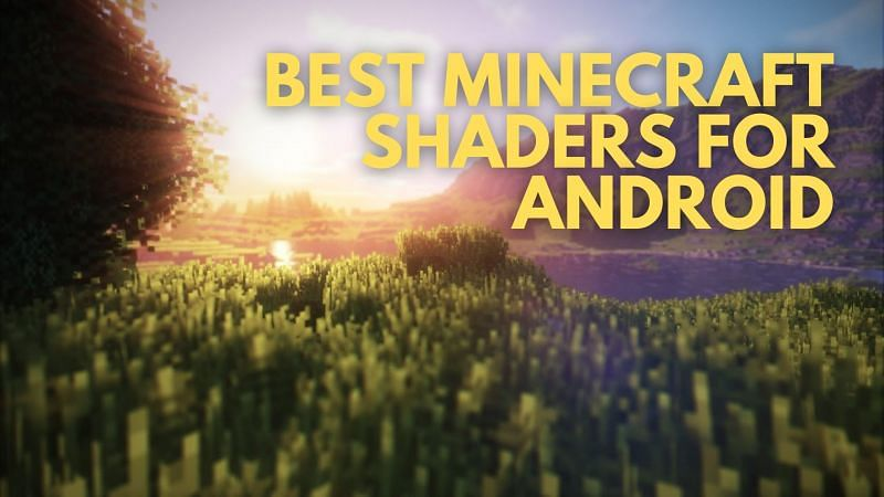 Some players like to use shaders to either improve or add to the existing textures of Minecraft