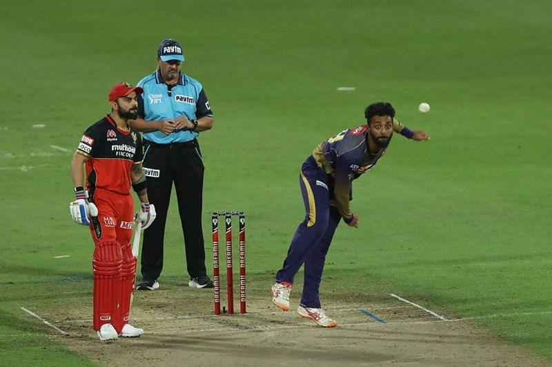 Varun Chakravarthy was the pick of the KKR bowlers [PC: iplt20.com]