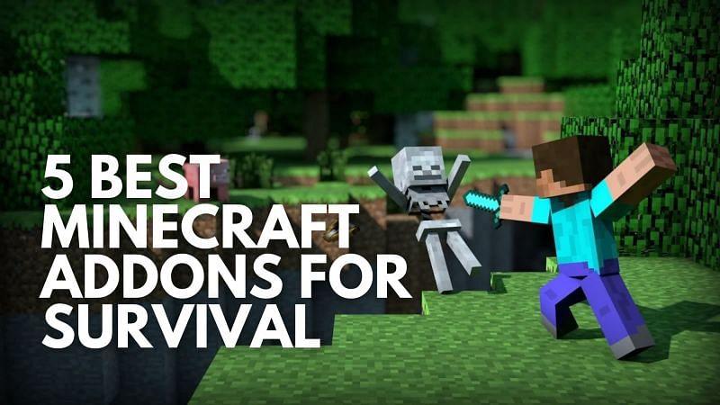 5 best Minecraft addons for survival