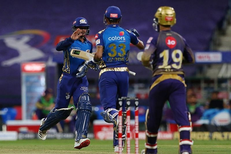 Mumbai Indians picked up a dominating 8-wicket win over KKR