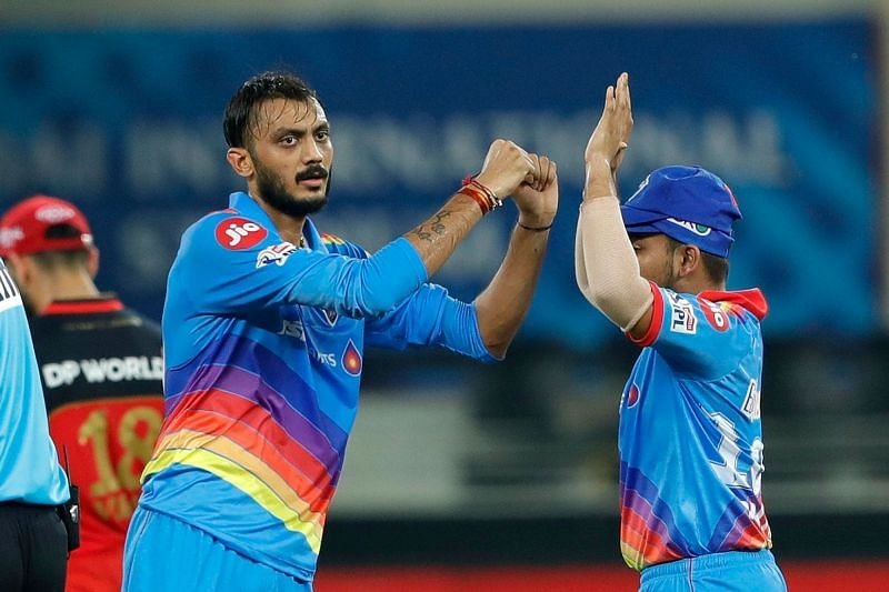 Axar Patel was adjudged the Man of the Match against RCB