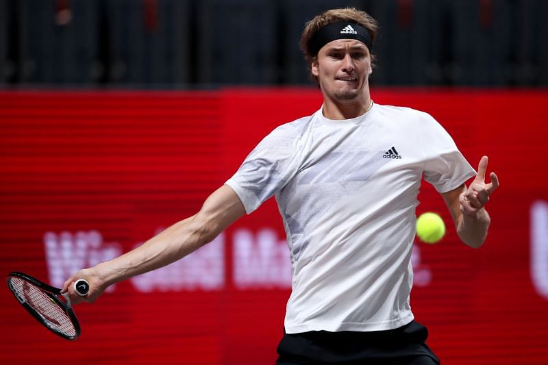 Alexander Zverev leads the field at the Cologne 2 event