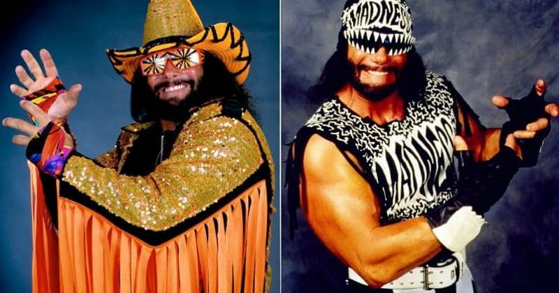 The two faces of Randy Savage