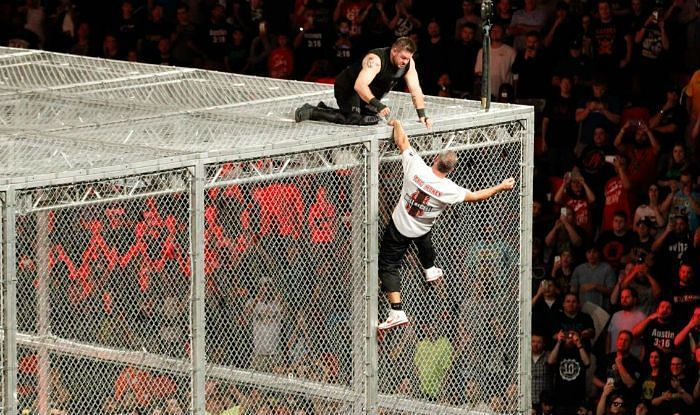Hell in a Cell is one of the dangerous matches in WWE