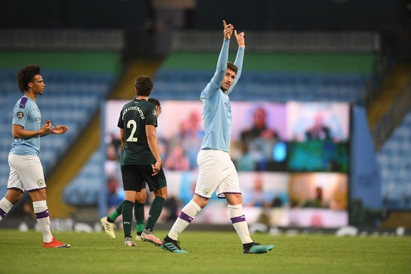 Aymeric Laporte played his first game of the season tonight
