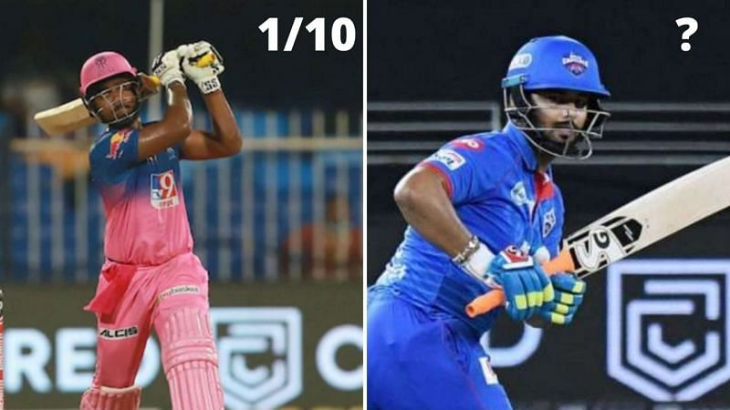 Rishabh Pant and Sanju Samson scored identically, and were poor for their respective teams.