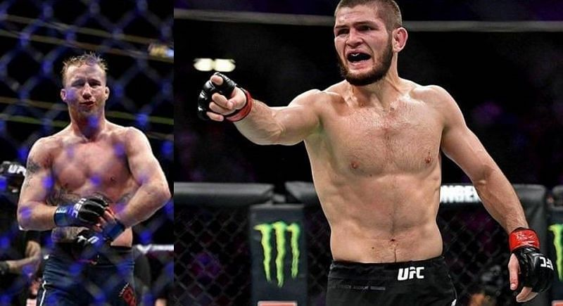 Justin Gaethje and Khabib Nurmagomedov are both top-tier MMA combatants