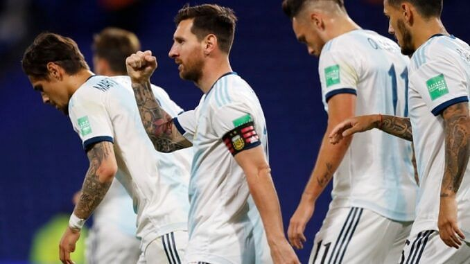 Argentina secured three points in their first qualifying game courtesy of Lionel Messi