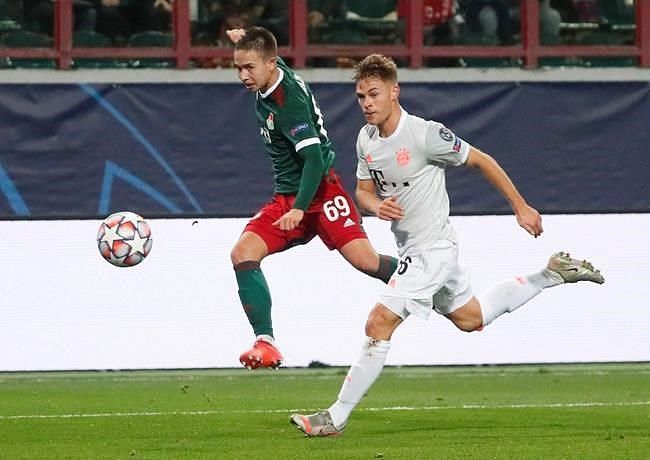 Joshua Kimmich scored a stunner late in the match to clinch all three points for Bayern Munich.