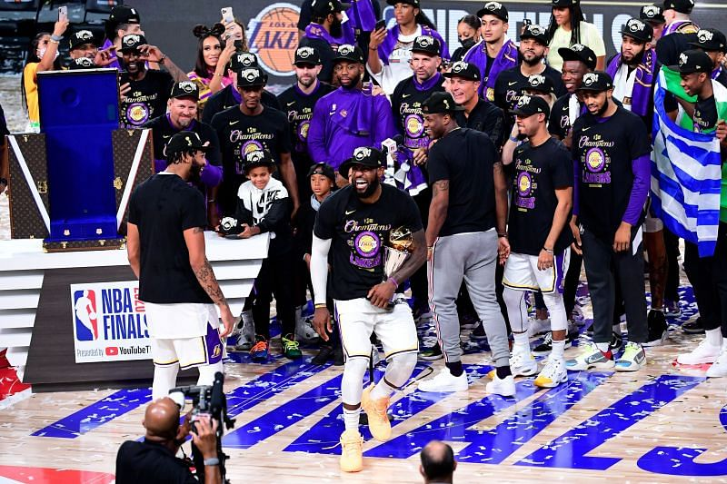 The LA Lakers are the 2020 NBA Champions
