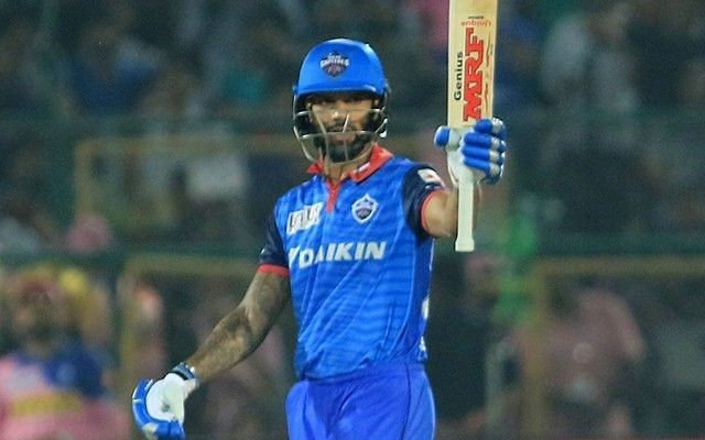 Shikhar Dhawan scored back-to-back centuries in the IPL