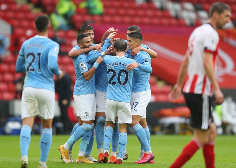 Sheffield United were beaten by Manchester City thanks to a Kyle Walker goal