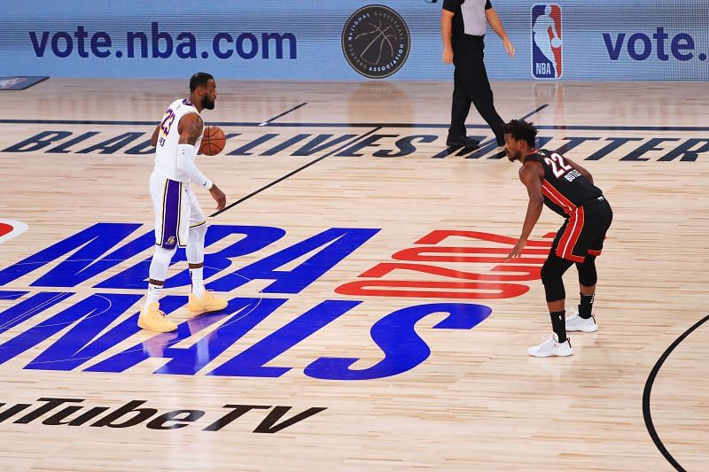 Derrick Jones Jr was hardly played by the Miami Heat during the 2020 NBA Playoffs
