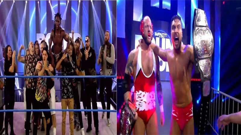 Impact Wrestling Bound For Glory was a night filled exciting in ring action and huge title changes.