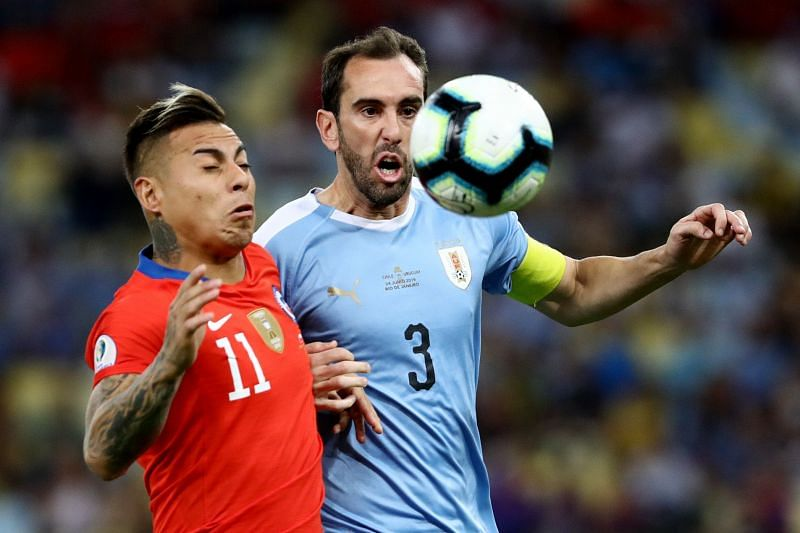 Uruguay take on Chile this week