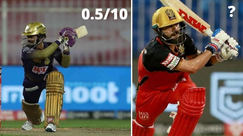 RCB cruised to a 82-run win over KKR
