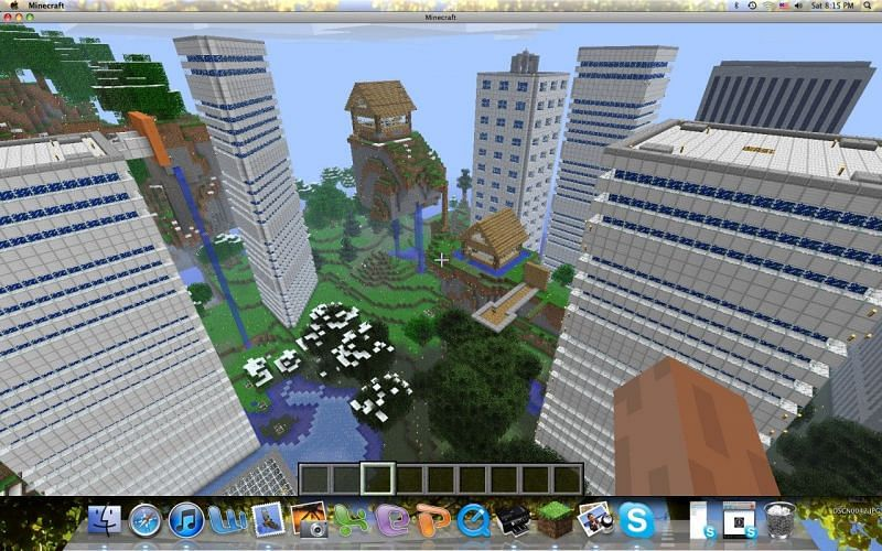 MineVille (Image credits: Planet Minecraft)