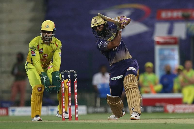 Rahul Tripathi led the way at the top of the order for KKR