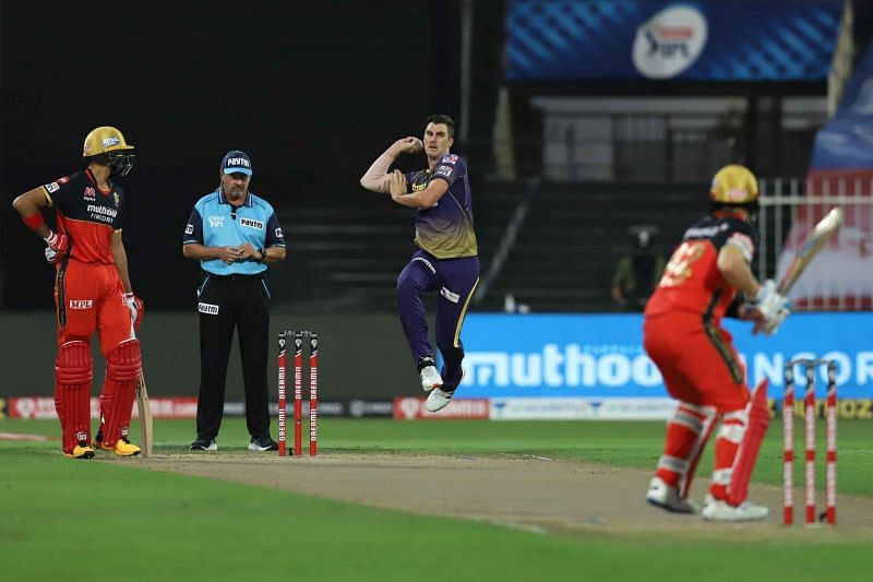 Cummins had a quiet day with bat and ball in hand. [PC: iplt20.com]