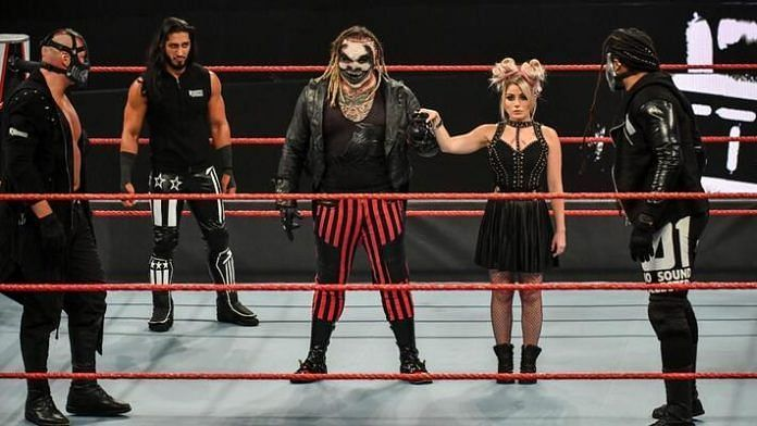 The Fiend with Alexa Bliss on RAW