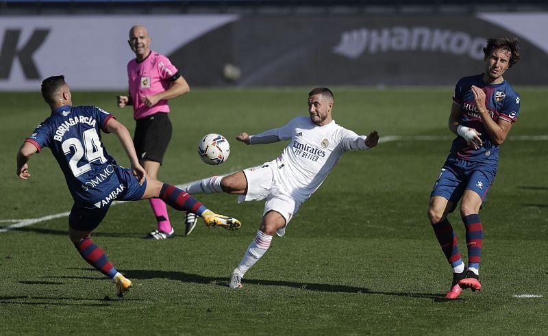 Real Madrid star Eden Hazard