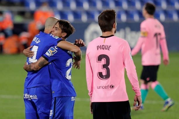 Getafe pulled a stunning victory over Barcelona, their first since 2007!