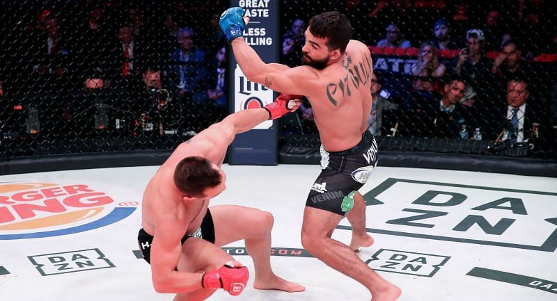 Patricio Freire put on a striking clinic in his KO win over Michael Chandler