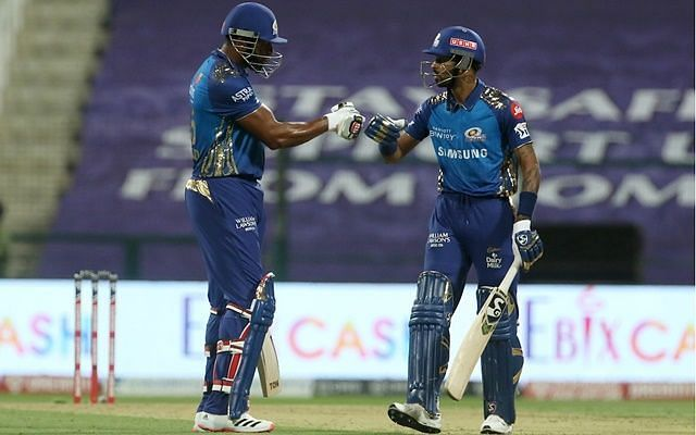 Hardik Pandya was delighted with the way both Pollard and he have performed regularly for MI.
